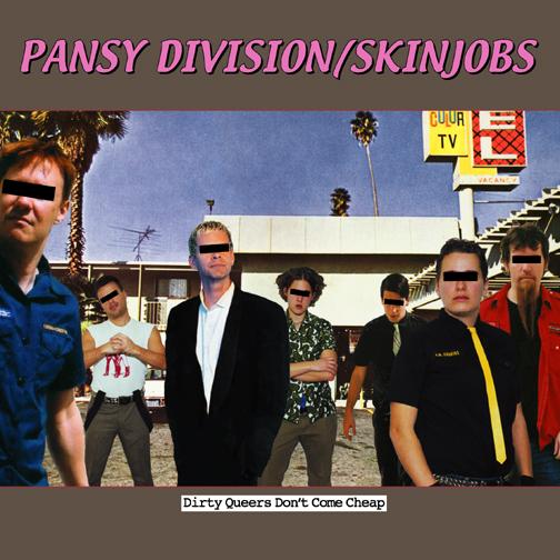 Pansy Division / Skinjobs split 45